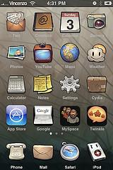Imagen de iPhone con JB